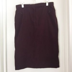 Christopher & Banks Stretch skirt, size 16.